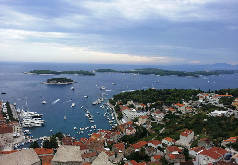 Town of Hvar and Paklinski islands